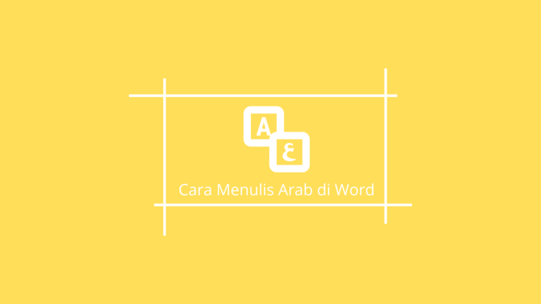 Bahasa arab di Ms. Word